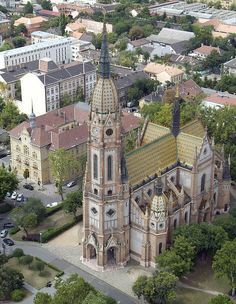 St Laszlo Church Budapest By Lechner Ödön. Art Nouveau Architecture, Religious Architecture, Architecture Details, Capital Of Hungary, Heart Of Europe, Worldwide Travel, Central Europe, Kirchen, Macedonia