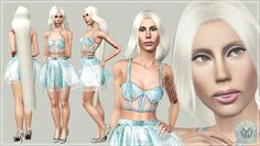 Modernist Playsuit and Hologram Heels by Artsims - Sims 3 Downloads CC Caboodle