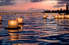 Festival de las linternas flotantes, Honolulu, Hawai