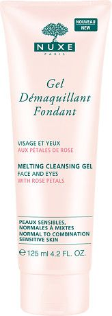 Nuxe Melting Cleansing Gel with Rose Petals 125ml