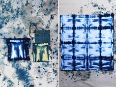 DIY Shibori. Interesting tutorial & great overview of the process. via Honestly WTF
