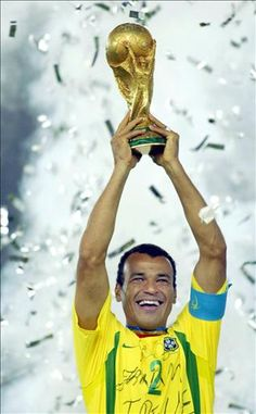 World Cup Winners 2002. The greatest Brazilian team ever? Cafu was at the heart of everything, a leader on and off the pitch.