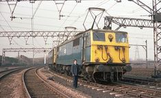 Guide Bridge Driver Nigel Danby | Many thanks to 'Pickled Ki… | Flickr Electric Locomotive, Diesel Locomotive, Third Rail, Flying Scotsman, Electric Train, British Rail, Barnsley, Emu, Diesel Engine