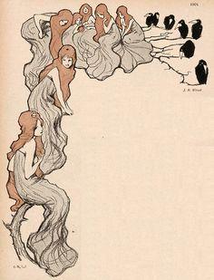 J. R. Witzel, Jugend magazine, 1901