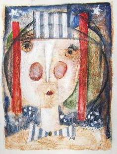 Girl With Hat by Scott Bergey