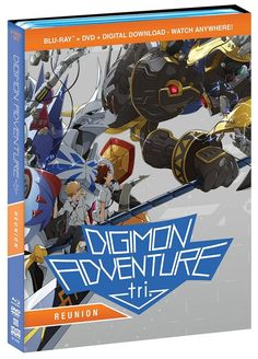 Digimon Adventure Tri.  Reunion arrives on Blu-Ray and DVD on May 16