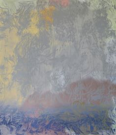 Raúl Illarramendi, EA n°20, 2013 Crayon couleur et gouaches sur toile — 200 × 160 cm