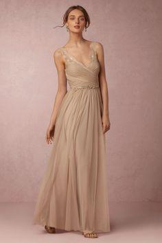 BHLDN Fleur Dress in  Bridesmaids Bridesmaid Dresses Long at BHLDN