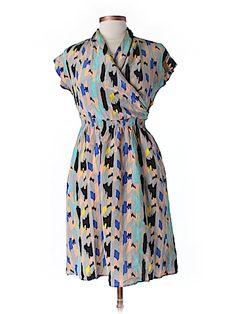 Practically New Size Med Tucker Silk Dress for Women