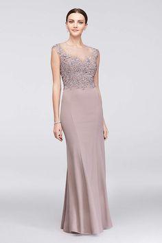 View Long Cachet Dress at David's Bridal