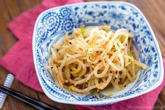 Spicy Bean Sprout Salad ホットもやし   Easy Japanese Recipes at JustOneCookbook.com