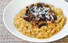 Quinoa Mushroom Risotto Recipe