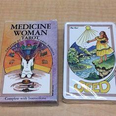 Vintage Medicine Woman Tarot Deck by Carol Bridges, Belgium  SEALED CARDS