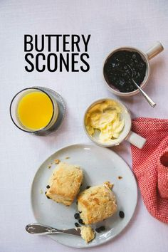Recipe for buttery scones made with Finlandia butter - a perfect breakfast bread