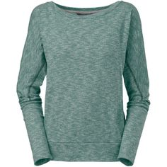 The North Face Women's Hallina Shirt is an excellent choice to cozy into whether it's summer or fall. Its twisted two-color jersey is as comfortable as it is beautiful, and the fit gives you a flattering figure.