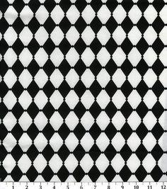 Keepsake Calico Fabric-White HarlequinKeepsake Calico Fabric-White Harlequin,