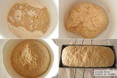 Receta de pan de molde integral sencillo Pan Bread, Deli, Cheese, Snacks, Baking, Food, Breads, Gourmet, Bakery Recipes