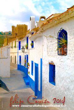 Calle del Castillo de Alcalá del Júcar