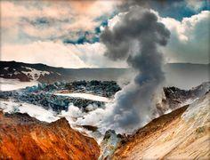 Volcán en #Islandia #Iceland
