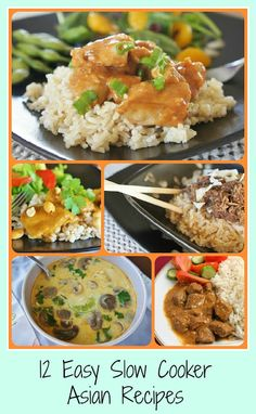 12 Easy Slow Cooker (Crock Pot) Asian Recipes