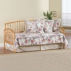 [Bunk Bed With Trundle] Bowery Hill Twin Daybed with Trundle in Pine -- Click on the image for additional details. (This is an affiliate link) #BunkBedWithTrundle