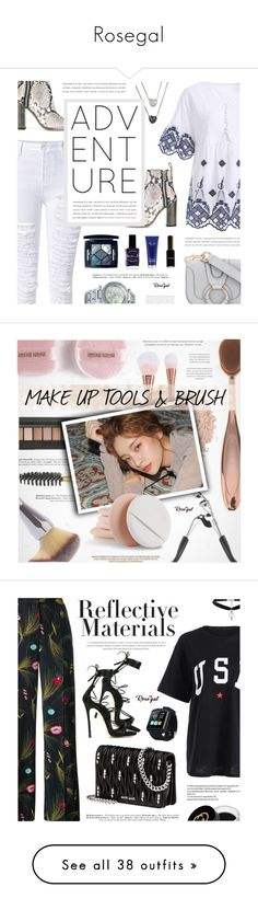 """Rosegal"" by defivirda on Polyvore featuring See by Chloé, Diesel, Christian Dior, Lauren B. Beauty, Elemis, Chanel, beauty, Handle, La Mer and Zara"