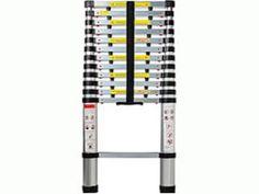 OxGord Feet Aluminum Telescopic Extension Ladder - Certified - Extendable wih Spring Load Locking Mechanism Non-Slip - 330 lb Max Capacity Aluminium Ladder, Aluminium Alloy, Multi Purpose Ladder, Best Paper Towels, Adjustable Ladder, Travel Trailer Floor Plans, Best Ladder