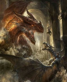 """// """"An old saying is; There are only those, who kill the dragons and those, who ride them."""""""