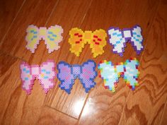 My Little Pony Perler Bead Barrettes by PerlerSalon