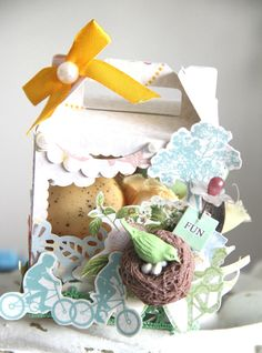 Easter's Project using Webster's Pages Best Friend's Collection + New Beginning Collection. by Emeline Seet.