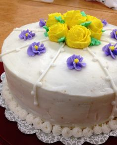 wilton cake decorating   Wilton's Cake Decorating - Course 1, Week 4