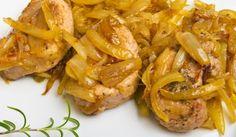 Рецепта за Пържоли с меден лук