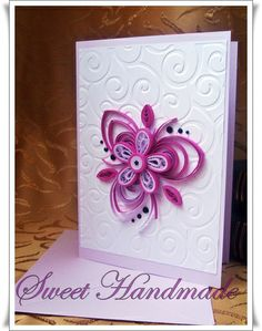 Part 1 of 2---• Sweet Handmade •: Purple Quilling