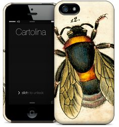 Cartolina iPhone case - Bee CASE425/525. i absolutely love this but could never pay $34.95 for a phone case.