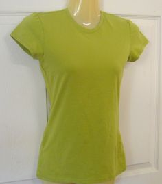 GAP Favorite Stretch XS Green Stretch Pull Over Top Shirt Cap Sleeves #GAP…