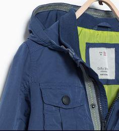 ZARA - ENFANTS - Parka avec poches et capuche