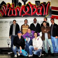 Some #tbt of the gang back in 2011 giving whirlyball a shot