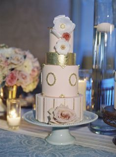 wedding cake idea; photo: Caroline Tran