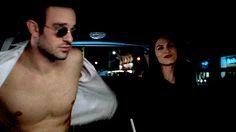 Matt Murdock(Daredevil) from Marvel:Daredevil, even Elektra is looking at those abs..Matt is one fine guy! <3