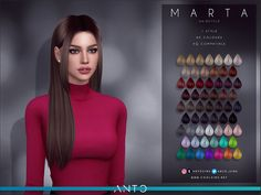Sims 4 Tsr, Sims Cc, Sims 4 Mods Clothes, Sims 4 Clothing, Sims 4 Cas Mods, Sims 4 Black Hair, The Sims 4 Cabelos, Pelo Sims, Sims 4 Collections