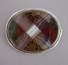 VICTORIAN, SCOTTISH, PEBBLE & AGATE JEWELRY Agate ~ Malachite ~ Scottish ~ Pebble ~ Cairngorm