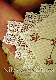 Captivating All About Crochet Ideas. Awe Inspiring All About Crochet Ideas. Crochet Lace Edging, Crochet Motifs, Crochet Borders, Love Crochet, Beautiful Crochet, Crochet Doilies, Crochet Flowers, Crochet Stitches, Pinterest Crochet