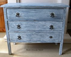 DIY distressed dresser
