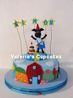 Valeria´s Cupcakes: Timmy Time para Simón