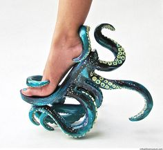 Octopus High-Heel Shoes That Let You Walk On Tentacles