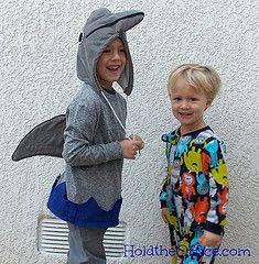 Homemade Dolphin Costume - HoldtheOffice.com
