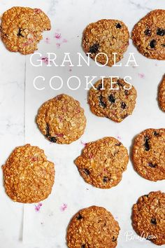 Granola Cookies. Have cookies for breakfast with this healthy recipe.