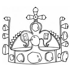 koruna omalovánka - Hledat Googlem