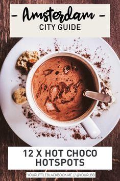 Warme chocolademelk is in de wintermaanden echt onze guilty pleasure. Liefst met heel veel slagroom en wat cacaopoeder erop gestrooid. In dit lijstje heb ik 9 hotspots voor warme chocolademelk in Amsterdam op een rij gezet. Enjoy! Amsterdam Travel Guide, Mini Marshmallows, Future, Breakfast, Food, Morning Coffee, Future Tense, Essen, Meals