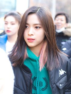 My Girl, Hair Color, Bomber Jacket, Makeup, Jin, Beauty, Hairstyles, Kpop, Music